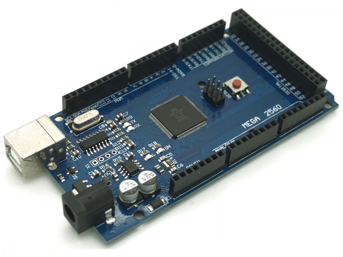 Naked Mega, an Arduino Mega 2560 compatible board from